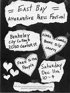 East bay alternative press festival zines berkeley city college elynn alexander
