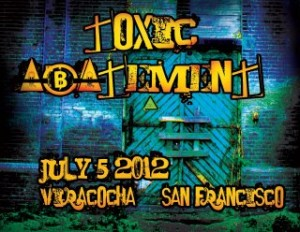 Toxic Abatement 2012. Elynn Alexander. Paul Corman-Roberts. Viracocha, San Francisco. Poetry.
