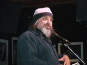 Paul Corman-Roberts. Cleveland Poetry Crawl, Broken Pulpit Poetry Reading.