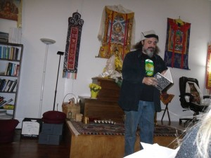 Paul Corman-Roberts. Full Of Crow press. Cleveland Poetry Crawl, Broken Pulpit Poetry Reading.