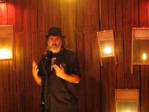 Michael Rothenberg, 100TPC, Full Of Crow's Second Annual Toxic Abatement Poetry Fest. Viracocha, San Francisco.