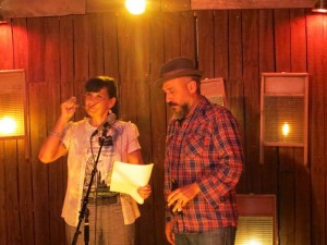 Youssef Alaoui and Terri Carrion. Full Of Crow's Second Annual Toxic Abatement Poetry Fest. Viracocha, San Francisco. 100TPC