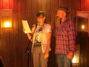YOussef Alaoui, Terri Carrion, Poetry, Full Of Crow's Second Annual Toxic Abatement Poetry Fest. Viracocha, San Francisco.
