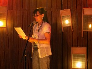 Terri Carrion. 100TPC. Full Of Crow's Second Annual Toxic Abatement Poetry Fest. Viracocha, San Francisco.