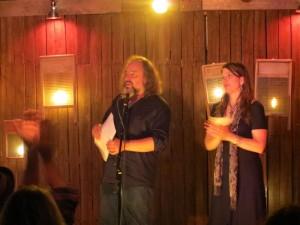 Full Of Crow's Second Annual Toxic Abatement Poetry Fest. Viracocha, San Francisco. Paul Corman-Roberts. Elynn Alexander. Lynn Alexander. Poet.