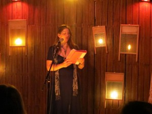 Elynn Alexander, Lynn Alexander, Poet, Full Of Crow's Second Annual Toxic Abatement Poetry Fest. Viracocha, San Francisco.