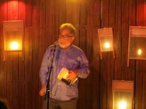 Neeli Cherkovski, poetry. Full Of Crow's Second Annual Toxic Abatement Poetry Fest. Viracocha, San Francisco.