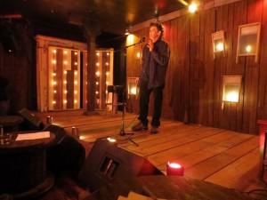 David Madgalene. Full Of Crow's Second Annual Toxic Abatement Poetry Fest. Viracocha, San Francisco.  Elynn Alexander. lynn Alexander.