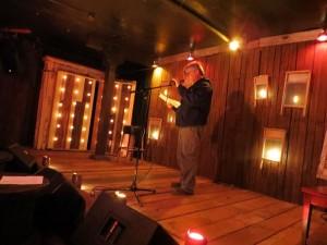Nicholas Karavatos. Full Of Crow's Second Annual Toxic Abatement Poetry Fest. Viracocha, San Francisco.