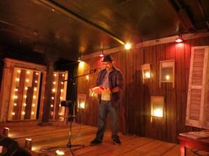 A Razor. Andrew Maranzanour, PUnk Hostage Press. Full Of Crow's Second Annual Toxic Abatement Poetry Fest. Viracocha, San Francisco.