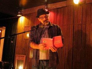 Andrew Maranzanor, A Razor, Punk Hostage Press, Full Of Crow's Second Annual Toxic Abatement Poetry Fest. Viracocha, San Francisco.