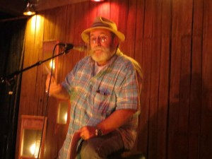 Bill Gainer. Poet. Full Of Crow's Second Annual Toxic Abatement Poetry Fest. Viracocha, San Francisco.