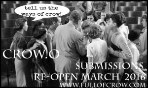 full of crow, submissions, elynn alexander, paul corman-roberts,
