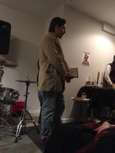Ryan Scacci. Lehigh Valley Vanguard Poetry. Easton.