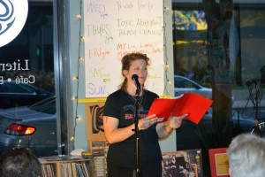 Elynn Alexander. Poetry Reading. 2015- Oakland BEAST Crawl Literary Festival. Oakland, 2015. 35 venues, over 200 poets. Full Of Crow's reading was held at the Octopus Literary Salon in Oakland . Lynn Alexander. Easton.
