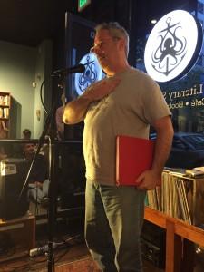 Steve Goldberg. Full of Crow. Poetry. Reading. Oakland. 2015.