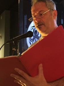 Steve Goldberg. Full of Crow Press Reading. Oakland.