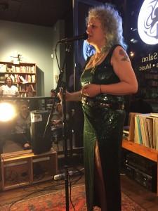 Jennifer Blowdryer. Full Of Crow Reading. 2015.