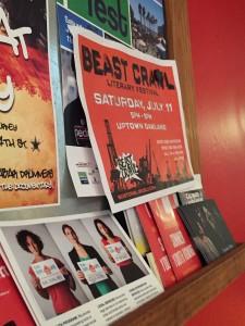 Beast Crawl Literary Festival. Elynn Alexander. 2015.