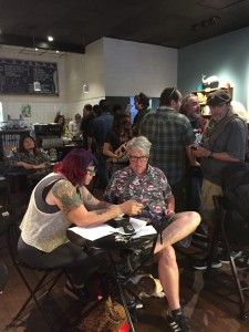 2015- Oakland BEAST Crawl Literary Festival. Oakland, 2015. 35 venues, over 200 poets. Full Of Crow's reading was held at the Octopus Literary Salon in Oakland