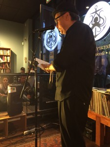 Luke Warmwater. 2015- Oakland BEAST Crawl Literary Festival. Oakland, 2015. 35 venues, over 200 poets. Full Of Crow's reading was held at the Octopus Literary Salon in Oakland . elynn alexander  2015.