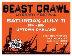 Beast Crawl Literary Festival, Elynn Alexander, Paul Corman-Roberts